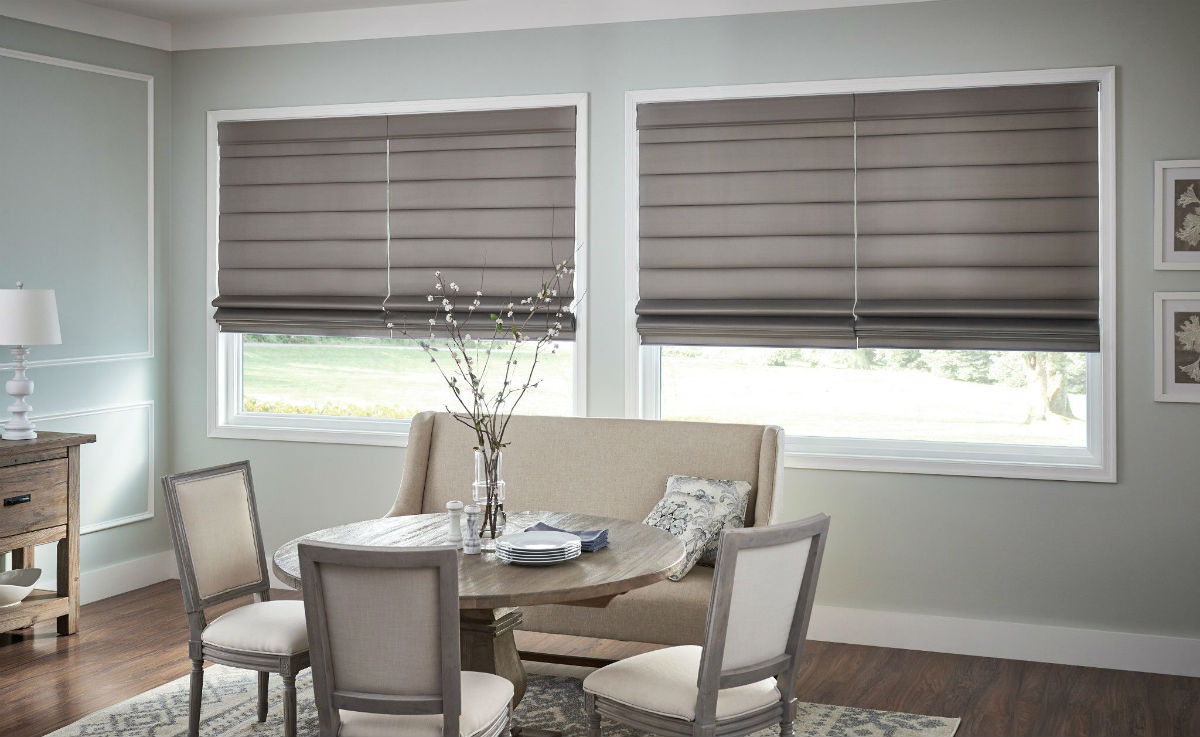 3 Types of Roman Shade Fold Styles in Hillsdale